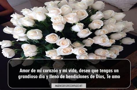 imágenes de buenos dias mi amor con rosas im 225 genes de rosas blancas de buenos d 237 as para descargar