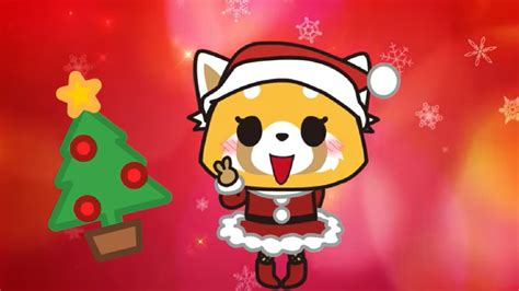 aggretsuko wishes   metal christmas