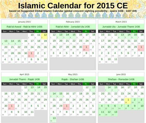 Calendar 2018 Gregorian And Hijri Hijri Calendar 1437 2018 Calendar With Holidays