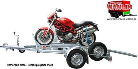 remorque moto porte moto remorques wanlin