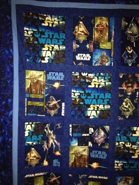 quilt pattern using star wars fabric 10 best images about star wars quilt projects fabric on