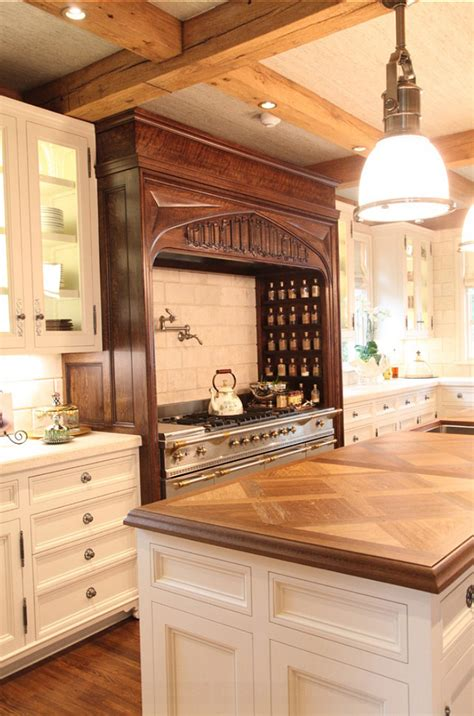 stained oak french kitchen hood design ideas page 1 how to paint over stained oak askhomedesign com