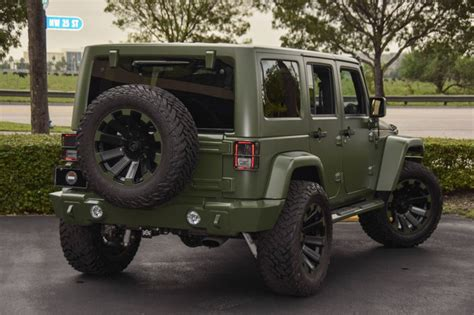 matte maroon jeep spotlight custom matte green jeep wrangler