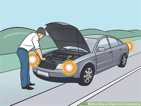 ways  stop  engine  overheating wikihow