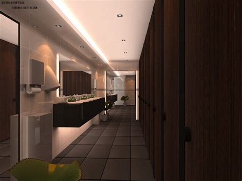 toilet design for 1 borneo shopping mall in sabah by