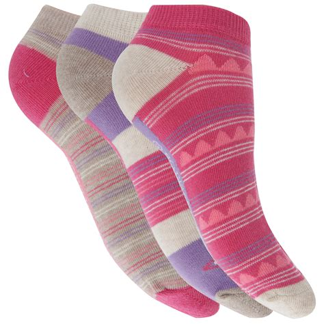 ladies patterned socks womens ladies aztec striped patterned trainer ankle socks
