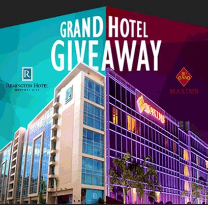 Hotel Giveaway - resorts world manila hotel giveaway philippine contests and promos