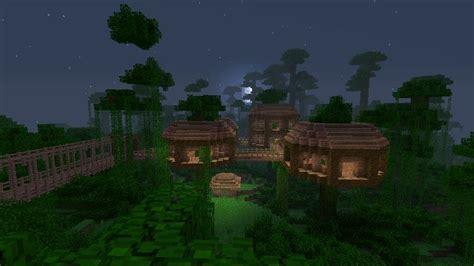 jungle treehouse complex map  survival mode minecraft discussion minecraft forum