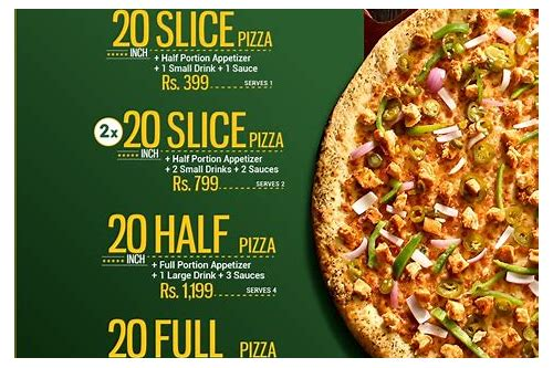 pizza discount deals in karachi