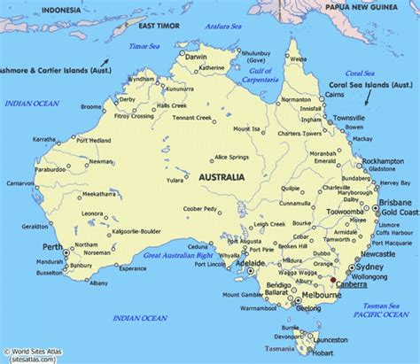 major cities in australia map map of australia with cities photo australia map