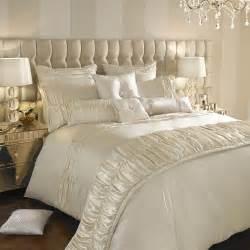 luxury bedding kylie minogue bedding karissa luxury faux satin cream bed