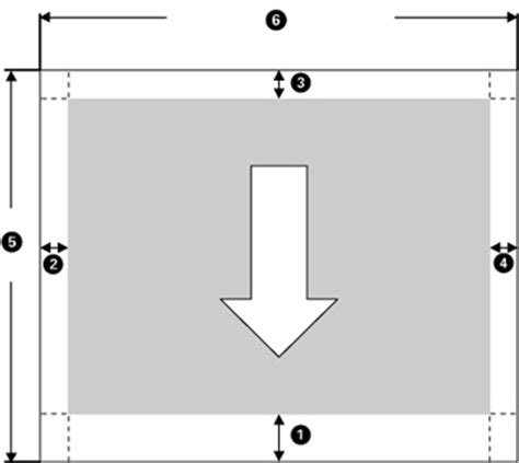 printable area paper printable area specifications