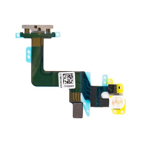 On Button Switch Flash Flex Cable Replacement For Iphone 6 iphone 6s plus power on button switch connector flex cablephone repair shop vendor