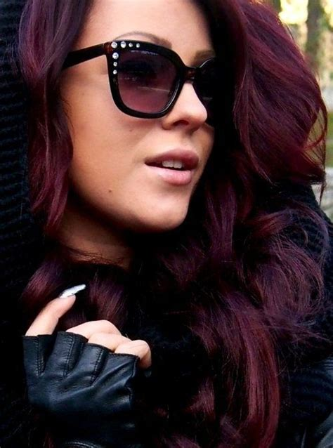 imagenes tintes oscuros dark burgundy hair color google search hairstyles