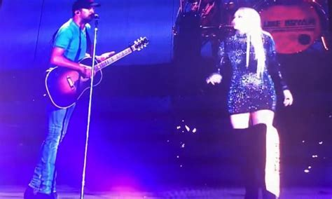 luke bryan duet gabby barrett luke bryan perform a duet at pittsburgh s