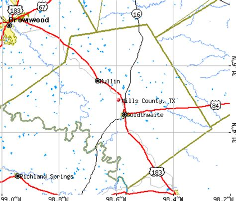 mills county texas map mills county texas detailed profile houses real estate cost of living wages work