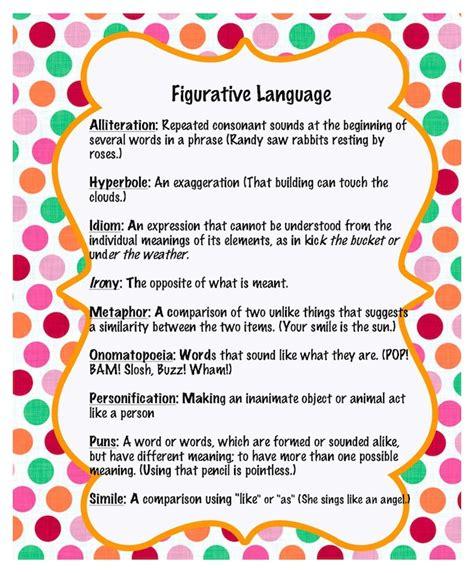 teachingisagift figurative language freebie