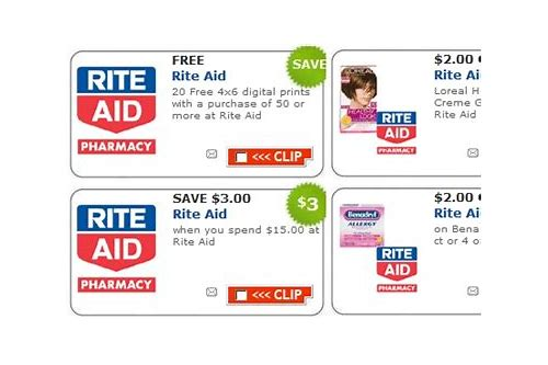 rite aid pharmacy coupons for new prescriptions