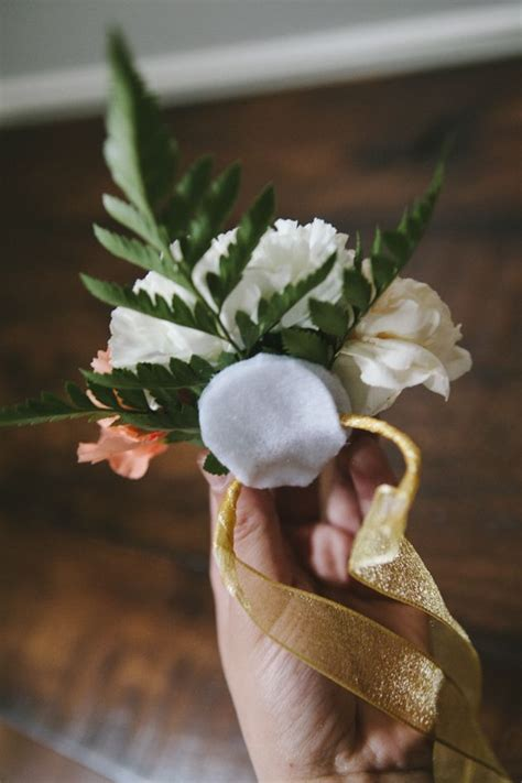 Handmade Corsage And Boutonniere - diy wrist corsage rustic weddings
