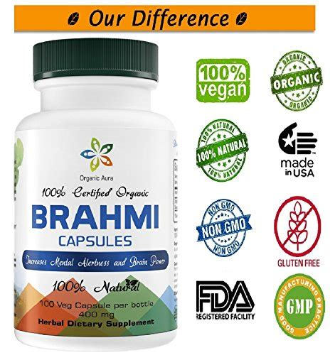 iris herbal products specializing in fresh certified organic ethically wildcrafted certified organic brahmi capsules bacopa 100 veg easy capsules naturally increases