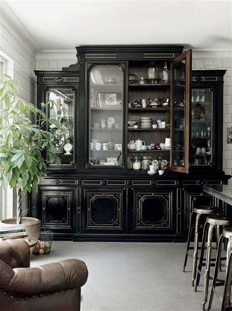 Armoire In Kitchen by Top 25 Best Black Rooms Ideas On Black