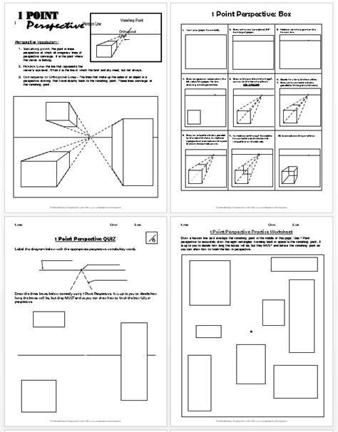 doodle drawing lesson plan 1 point perspective lesson plan 1 boxes create with me