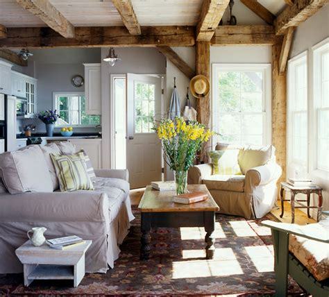 Cosy Cottage Living Rooms by Cozy Cottage Living Room New York By New Energy