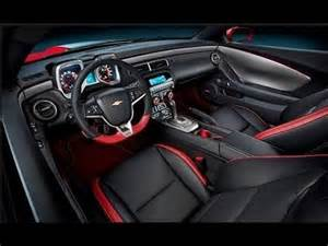 Trailblazer Ss Interior 2016 Chevrolet Camaro Z28 Interior Youtube