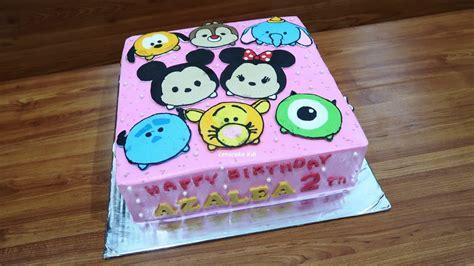 cara buat kue ulang tahun karakter cara menghias kue ulang tahun karakter kartun terbanyak
