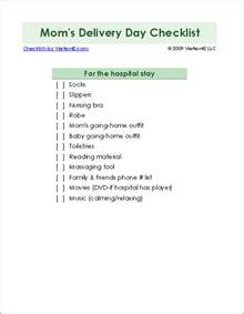 delivery checklist template new baby checklist printable newborn checklist and baby