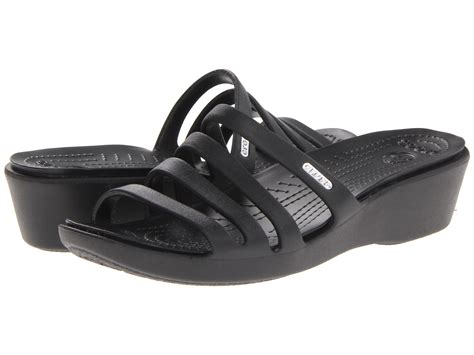 zappos wedge sandals crocs rhonda wedge sandal zappos free shipping both ways