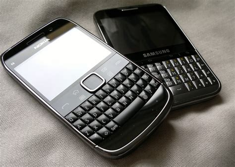 Nokia Android Qwerty to nokia e6 vs samsung galaxy pro