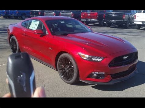 2016 ford mustang gt (manual): start up, exhaust, test