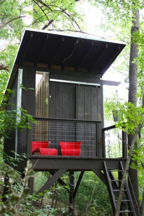 modern treehouse small modern treehouse backyard
