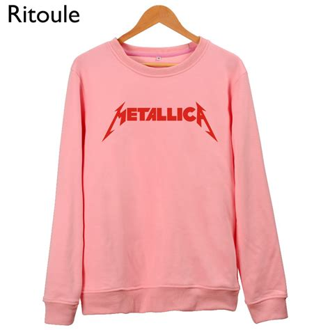 Jacket Sweater Hoodie Metallica get cheap pink brand clothing aliexpress alibaba