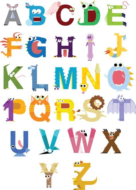 free printable monster alphabet letters monster alphabet on behance