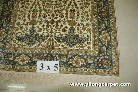 how big is 3x5 rug size 3x5 handmade silk rug b15 3x5 yilong china manufacturer carpet household