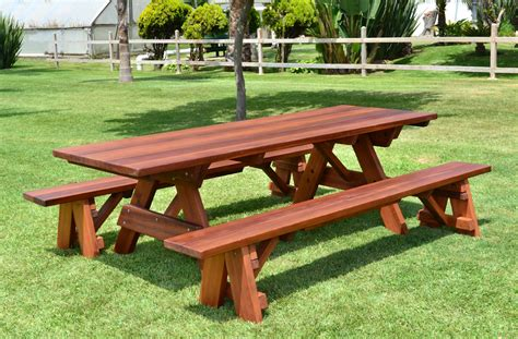 forever wood picnic tables built to last decades