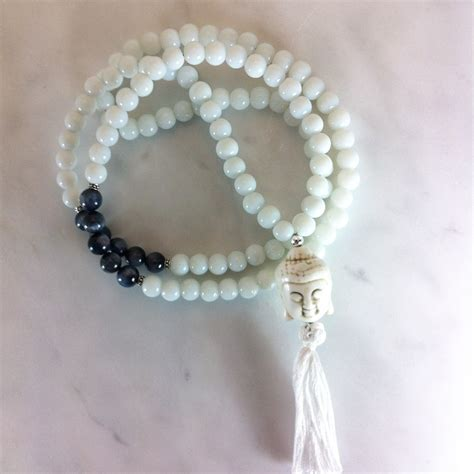 jade mala meaning white jade mala necklace 108 mala buddhist prayer