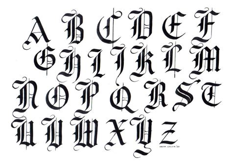 Black Letter 1000 Images About Letters On Calligraphy Fonts Black Letter And