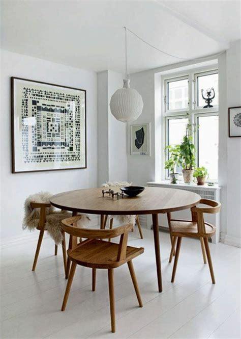 moderne holzmöbel wohnzimmer skandinavische m 246 bel holz esszimmertisch mit st 252 hlen