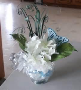 Small hydrangea centerpiece floral arrangements pinterest
