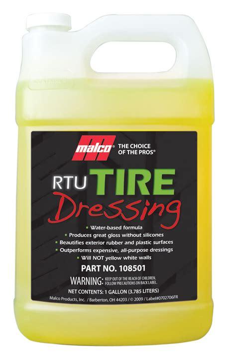 rtu tire dressing