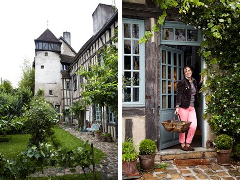 This rustic tudor style home will make you want to move to france home tour lonny