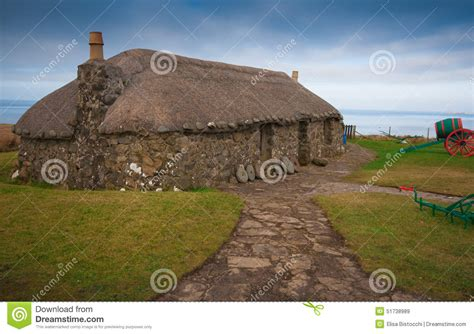 Scottish Cottage Near The Sea Stock Photo Image 51738989 Cottages Near The Sea
