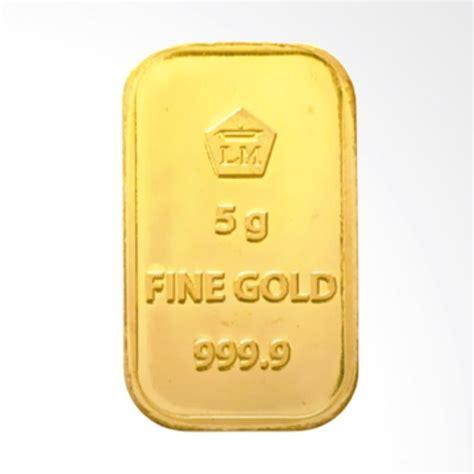 Emas Antam Logam Mulia 0 5 G jual pentacles logam mulia antam 5 gram sertifikat