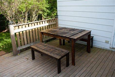 pallet bench ideas recycled wood pallet bench furniture ideas recycled