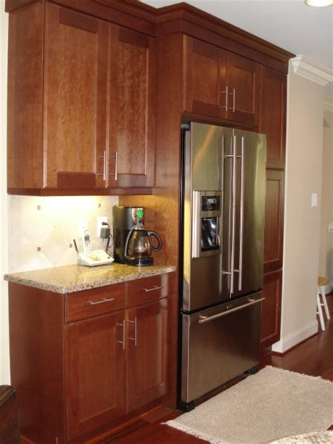 depth of kitchen cabinets refrigerator marvellous refrigerator cabinet depth best