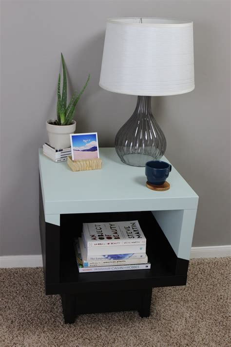 ikea side table hacks lack side table ikea hack gray house studio