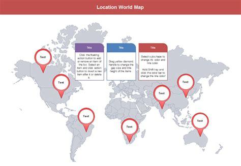 vector world map editable
